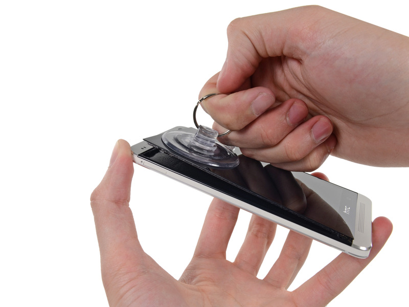 Điện thoại HTC hư mặt kính