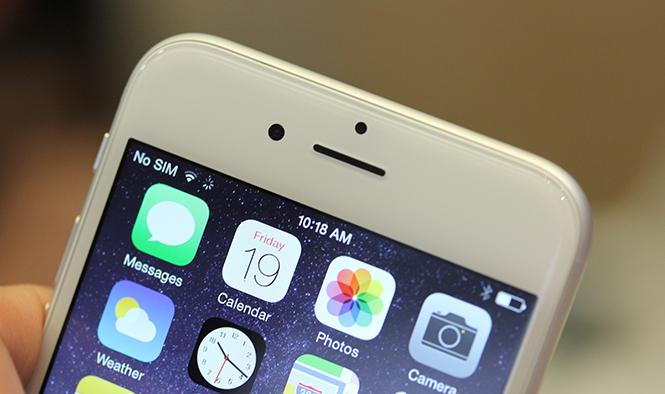 iPhone 6 sóng yếu