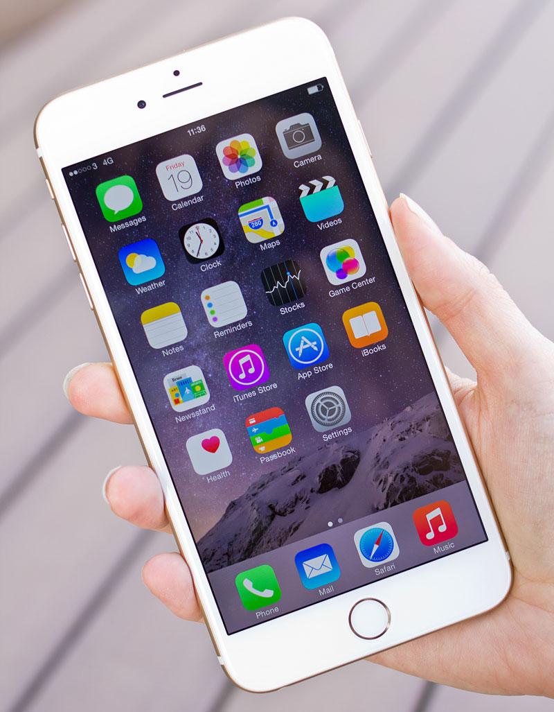 iPhone 6 Plus không vào được wifi