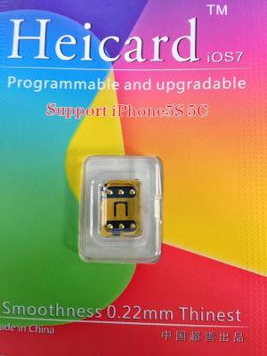 Hình ảnh heicard unlock iphone 5s/5c/5/4s