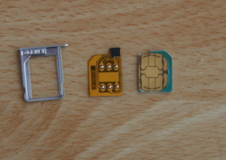 Sử dụng sim ghép để unlock iPhone