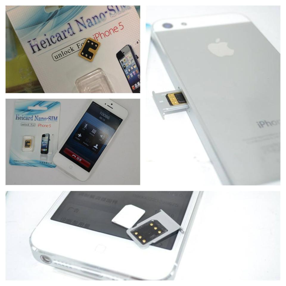 Những loại sim ghép cho iPhone 5