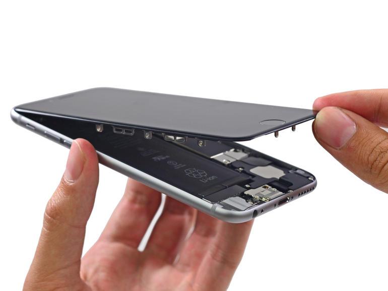 Thay thế mặt kính iPhone 6 Plus